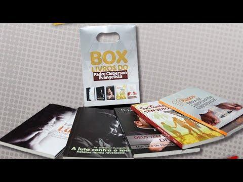 LANÇAMENTO - NOVO BOX COM TODOS OS LIVROS DO PADRE CLEBERSON EVANGELISTA