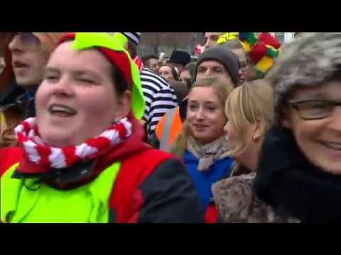 Besoffe vör Glück: Video und Text