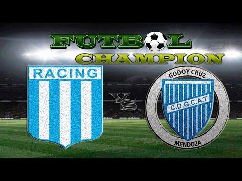 Racing vs Godoy Cruz - Primera División Fecha 17