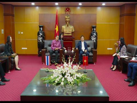Bộ trưởng Bộ Công Thương tiếp Đại sứ Thái Lan tại Việt Nam