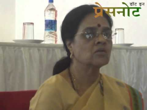 Dr.Girija Vyas Speaks to Media