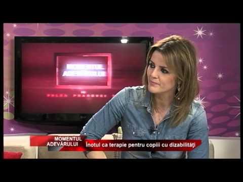Emisiunea Momentul Adevărului – Înotul ca terapie pentru copiii cu dizabilități – 30 martie 2015