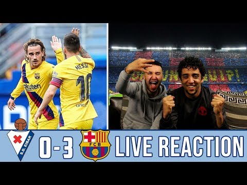 MSG SHOW THEIR CLASS IN BARÇA'S VICTORY! | REACTION - REACCIONES