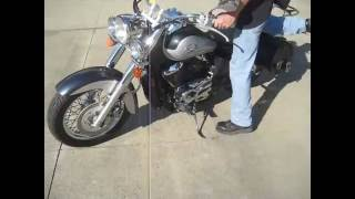 4. 2003 VT750 SHADOW ACE DELUXE $1900 FOR SALE WWW.RACERSEDGE411.COM