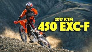 8. 2017 KTM 450 EXC-F | Test Ride