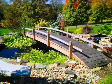 Backyard Bridge Plans And Designs For Your Garden. Backyard Garden Bridges  Were Normally.