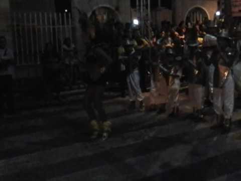 Desfile de escola de samba em Sobral 2008