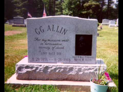 GG Allin - Scabs on my Body, Scars on my Dick
