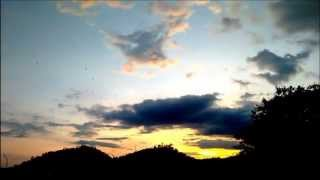 Time-Lapse of Sun Set at Yaounde, Cameroon