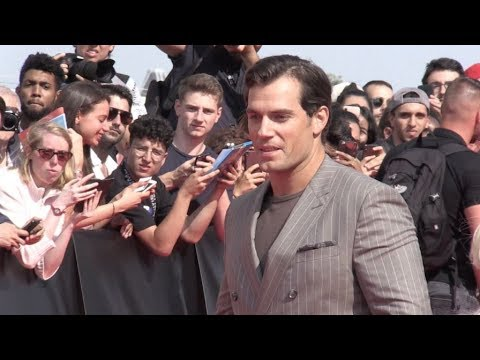 Henry Cavill, Vanessa Kirby and more on the red carpet for the Premiere of Mission Impossible Fallou