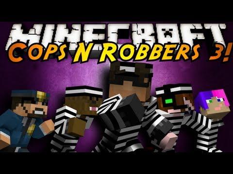 Minecraft Mini-Game : COPS N ROBBERS 3!