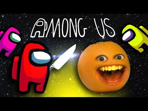 Annoying Orange is AMONG US!
