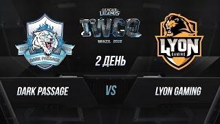 DP vs Lyon, game 1
