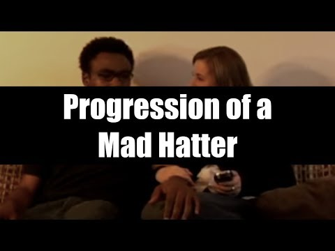 Progression Of A Mad Hatter