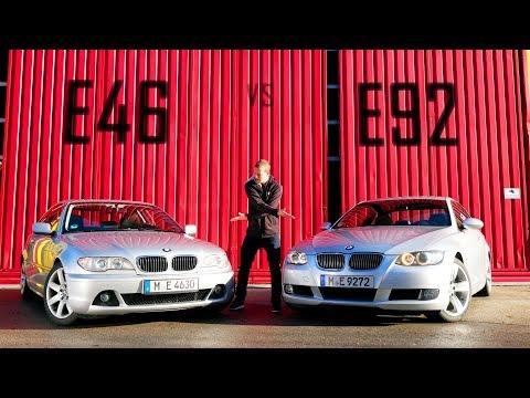 BMW E92 330i vs E46 330ci | Vergleich | Fahr doch