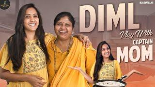 DIML Vlog With Captain MOM | Mutton Fry | Lasya Manjunath |