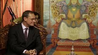 Монгол Улсын Ерөнхийлөгч Х.Баттулгад ХБНГУ-ын Берлин хотын дарга Михаель Мюллер бараалхав