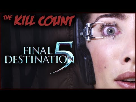 Final Destination 5 (2011) KILL COUNT