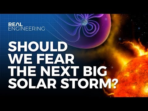 Could Solar Flares Leave Us With No Electricity?