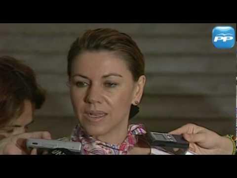 Mª Dolores de Cospedal felicita a la Selección Española