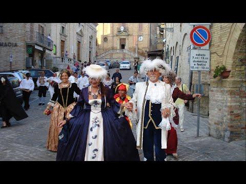 Festa Barocca - Ripatransone (видео)