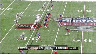 Jon Bostic vs Louisville (2012 Bowl)