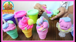 Video Mainan Anak Play Doh Ice Cream - Play Doh Swirl & Scoop Ice Cream - How To Make Ice Cream With Toy MP3, 3GP, MP4, WEBM, AVI, FLV Juli 2018