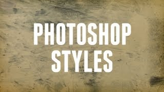 How to Install and Use Photoshop Styles