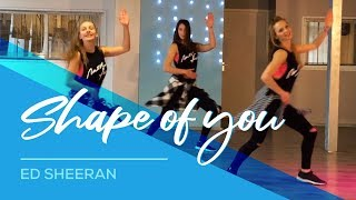 Video Shape Of You - Ed Sheeran - Fitness Dance Choreography - Baile - Coreografia Zumba MP3, 3GP, MP4, WEBM, AVI, FLV September 2017