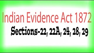 Indian Evidence Act, 1872 : Admission & confession visithttps://www.youtube.com/watch?v=1KHrqUOGTYcVisit to the channel and subscribe for the notification of latest videoswww.youtube.com/c/lawlearningbyanuragroy                          Visit to the playlist on channel and learn                             Drafting,  format,  legal concept etc,Suggest your own topics related to law, drafting,  format etcBe connected and help us to enlarge the community as well as to spread the legal knowledge all over the country.