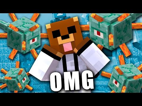 Encontré el TEMPLO MARINO  Minecraft #29