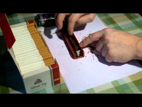 Машинка для набивки сигарет своими руками 38