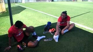 Treinamento do Sport para enfrentar o Grêmio