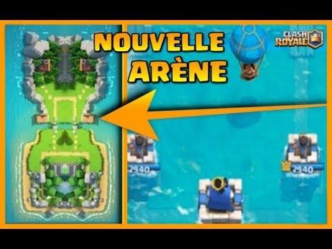 Clash Royale - NOUVELLE ARÈNE / NOUVELLES TROUPES / NOUVEAU MODE DE JEU / MODE SOLO