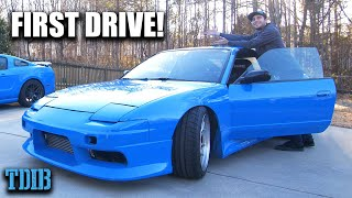 My 500HP 2JZ 240SX Sounds INSANE! FIRST DRIVE OF BLUEJZ REBORN! by That Dude in Blue