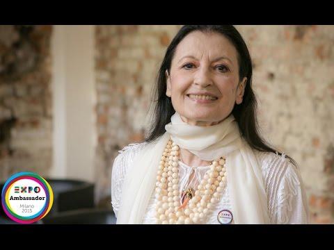 Ambassador Carla Fracci Expo Milano 2015 ENG