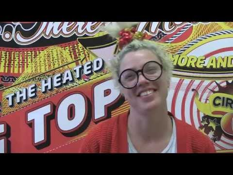 Circus Oz 2015 Behind the Inflatable Arch - Olivia Porter