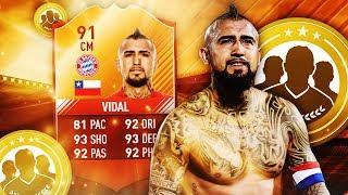 FIFA 17 | FIRST OWNER IMOTM VIDAL 🔥🔥 SQUADBUILDER BATTLE 🔥 | ULTIMATE TEAM