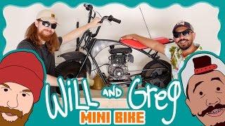 Video Will & Greg Show:  Custom Mini Bike! (Ep. 1) MP3, 3GP, MP4, WEBM, AVI, FLV September 2018