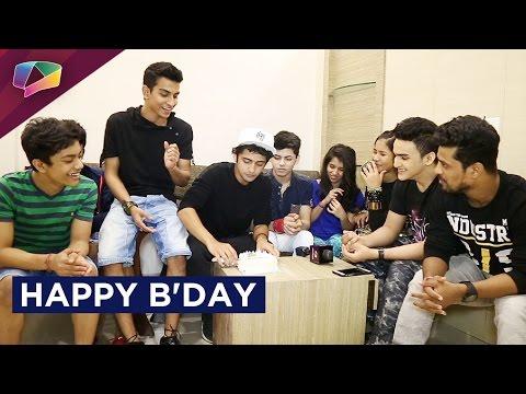 Sumedh Mudgalkar celebrates his birthday with his