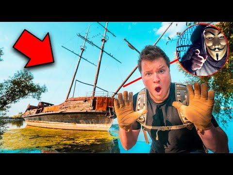 FOUND THE GAME MASTERS HIDEOUT! ABANDONED PIRATE SHIPWRECK - Thời lượng: 12 phút.