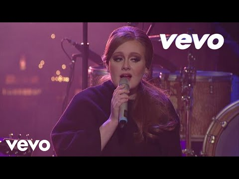 Adele – Make You Feel My Love (Live on Letterman)