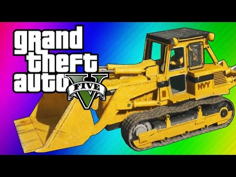 GTA 5 Online: 2 Fun Jobs! – Pool Divers & Vehicle Bouncy Castle! (GTA 5 Funny Moments)