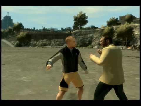 GTA IV - Niko VS. Personal Trainer