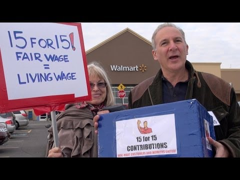 Peter Schiff Asks People if Walmart Employees Are Underpaid — His Next Question After They Say 'Yes' Is Funny