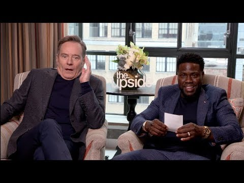 THE UPSIDE interview - Kevin Hart auditions for Breaking Bad movie with Bryan Cranston