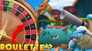 Minecraft PIXELMON ROULETTE MINIGAME CHALLENGE - Pokemon Modded Battle Minigame