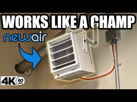 THE BEST HEATER FOR YOUR GARAGE!! |  NEWAIR G73