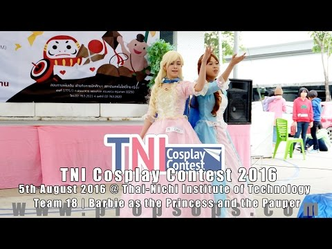 TNI Cosplay Contest 2016 | Team 18 – Barbie as the Princess and the Pauper