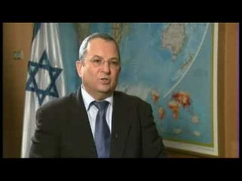 Talk to Al Jazeera - Ehud Barak - 4 Sep 08 - Part 1